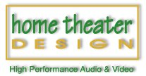 home theater design logo image